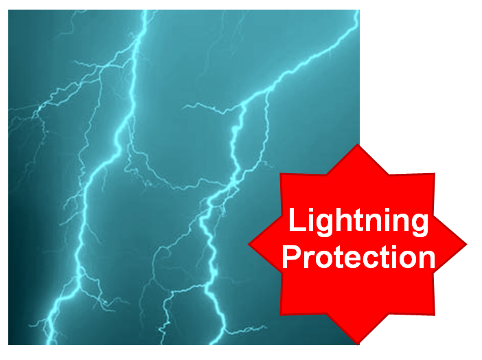 Protect from Lightning during thunderstorms