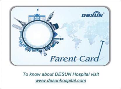 Desun Parent Card