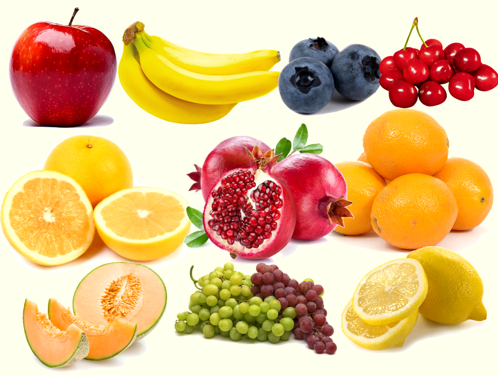 Some Common Fruits and Health Benefits