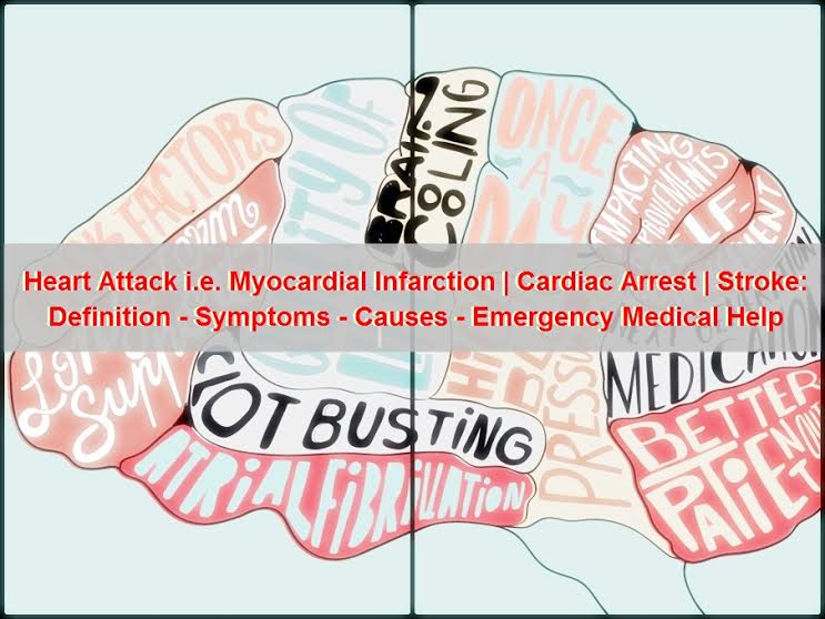 Heart Attack | Cardiac Arrest | Brain Stroke