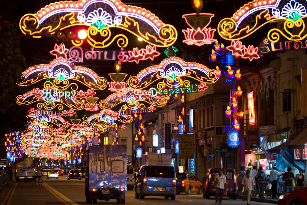 Happy Deepavali festival Lights - by David Sifry - FLICKR